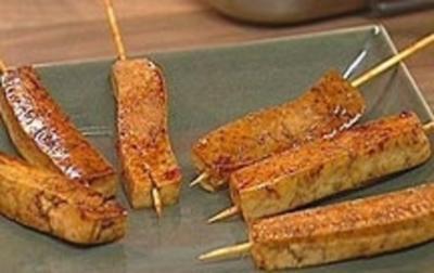 Rezept: Chili-Tofu-Spieße
