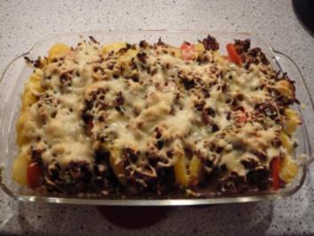 Rezept: Kartoffel - Tomatenauflauf