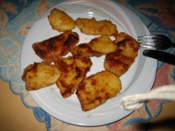 Panierte Steinpilze im Butter gebraten - Rezept