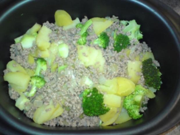 Broccoli-Kartoffelauflauf - Rezept