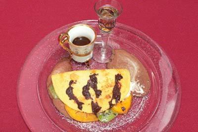 Süßer Döner - kleiner Pfannkuchen mit süßer Füllung - Rezept