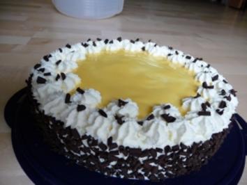 Eierlikör-Sahne-Torte - Rezept