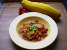 Kartoffelgulasch mit Putenfleisch - Rezept