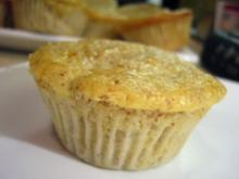 Muffins: Banane-Topfen mit Schokokern - Rezept