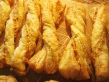 Nuß-Käsestangen - Rezept