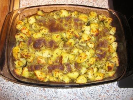 Rotbarsch mit Pesto- Käsekruste - Rezept