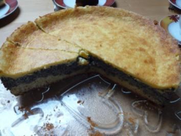 Mohn - Schmand Kuchen - Rezept