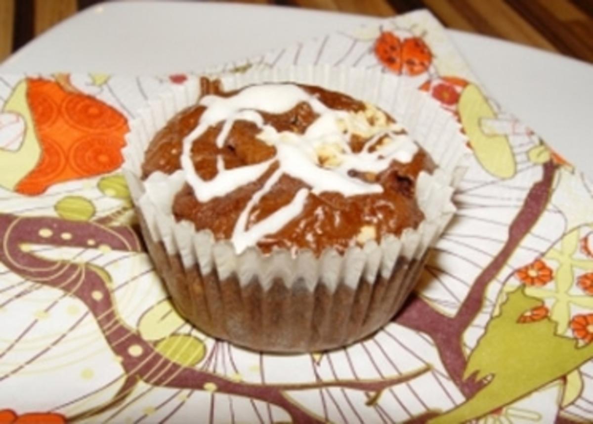 Chili-Schoko-Kirsch Muffin - Rezept By sternchen1981