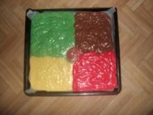 Papageienkuchen vom Blech - Rezept