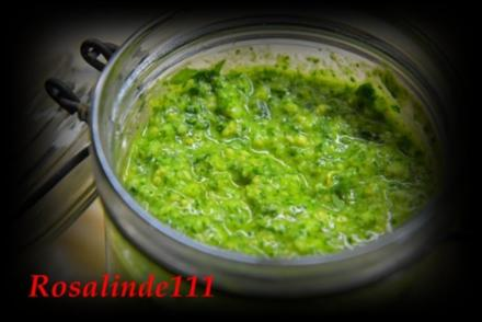 Makkaroni mit Basilikum Pesto - Rezept