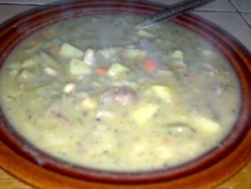 Bohneneintopf mit Rindfleisch - Rezept