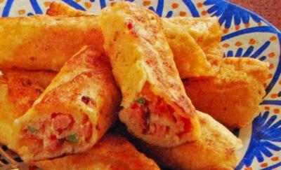 Tortillas mit Schinkenfüllung - Rezept - Bild Nr. 2
