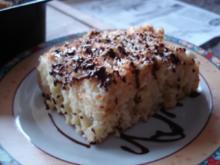 Buttermilchkuchen mit Kokoshaube - Rezept