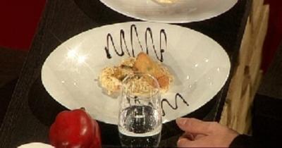 Teigtaschen mit Zander und Sauerkraut - Rezept