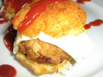 Reis - Burger - Rezept