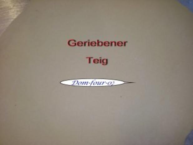 Geriebener Teig - Rezept - Bild Nr. 2