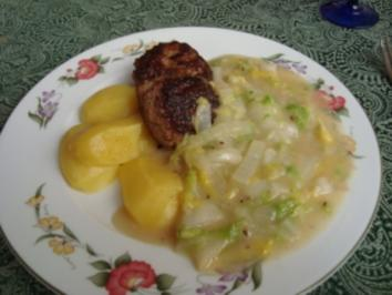 Hauptgericht - Sonstiges - Chinakohl-Gemüse - Rezept