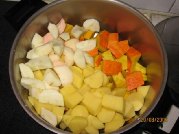 Kürbissuppe vom Hokkaido Kürbis - Rezept - Bild Nr. 3