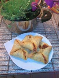 Blätterteigtaschen - Rezept