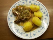 Gurkenkotelett in Senfsoße - Rezept