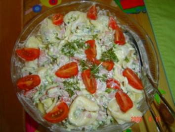 Rezept: Tortellini-Salat