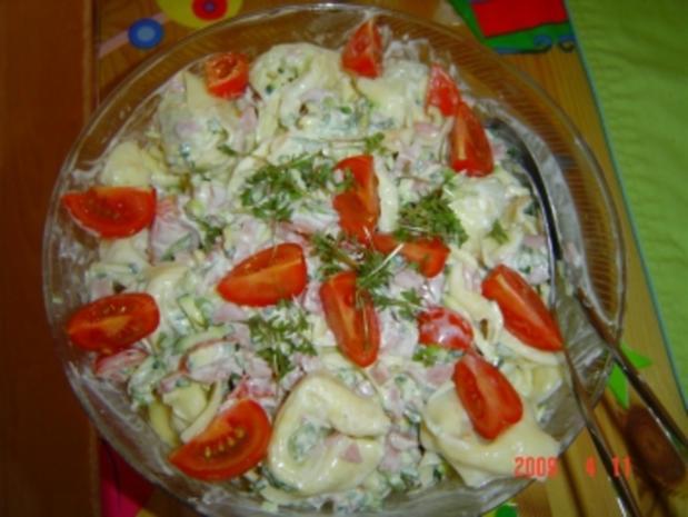 Tortellini-Salat - Rezept