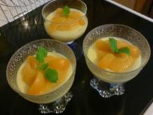 Aprikosen im Vanille-Bett - Rezept