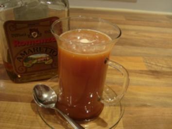 Rezept: *Drinks mit Alkohol - Amaretto-Tee á la Dane