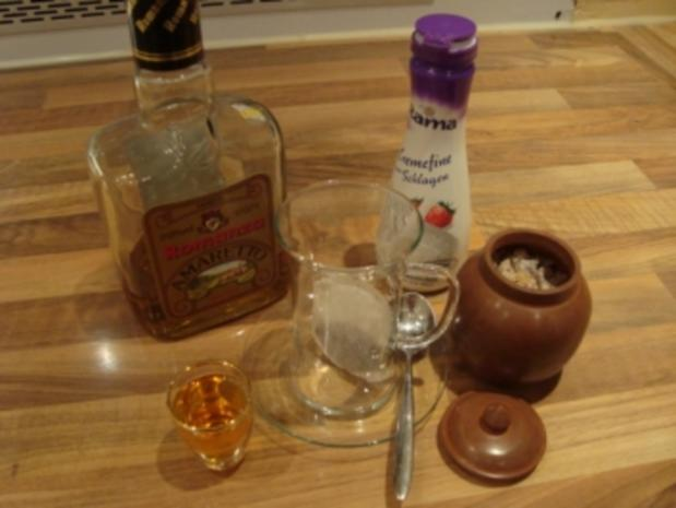 *Drinks mit Alkohol - Amaretto-Tee á la Dane - Rezept - Bild Nr. 2