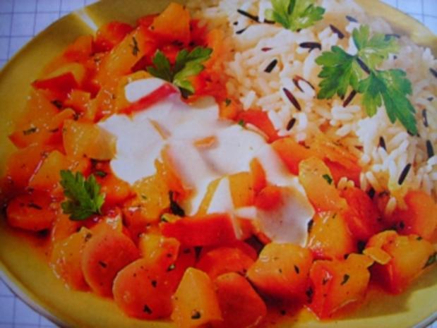 Apfel-Möhren-Curry - Rezept