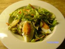 Frühlingssalat mit Eiern - Rezept