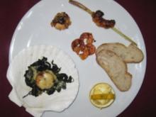 Variation von Meeresfrüchten - Rezept