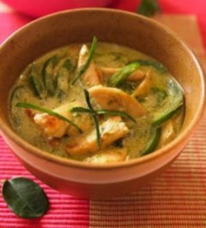 Thai Gruener Curry - Rezept