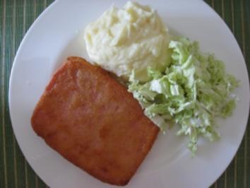 Panierter Fleischkäse - Rezept