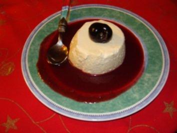 Rezept: Nachtisch - Flokati-Sauerkirsch-Creme-