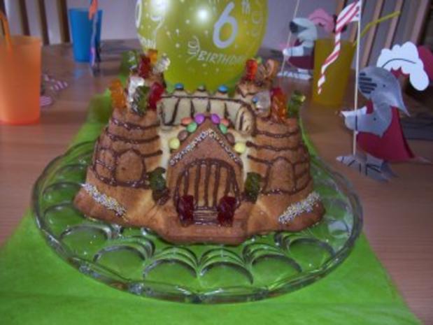 Ritterburgkuchen Kann Naturlich Auch Ein Prinzessinenschloss Draus