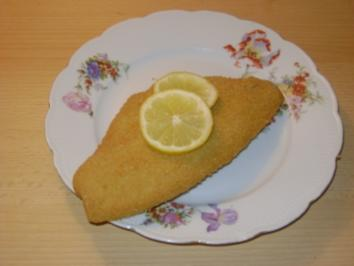 Scholle gebacken mit Mayonnaisekartoffel - Rezept