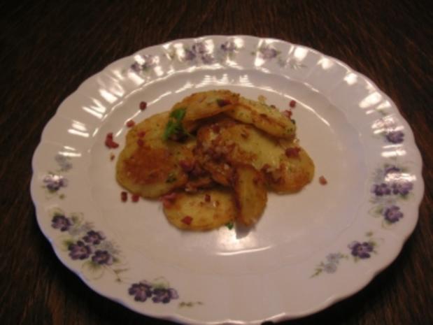 Bratkartoffeln von gekochten Kartoffeln - Rezept