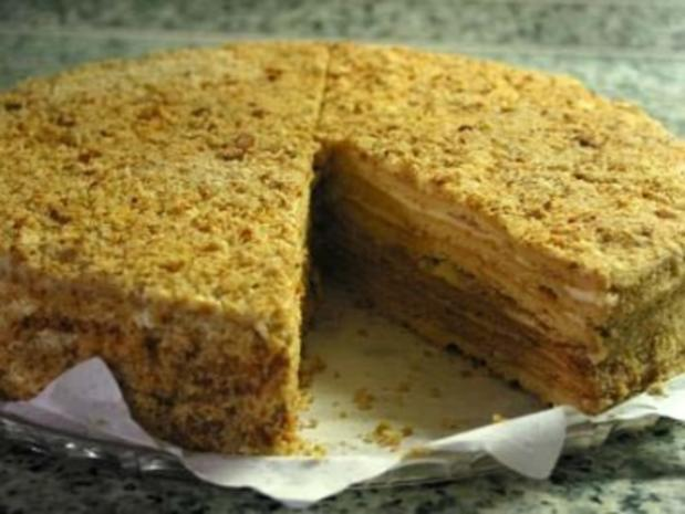 Medovnik Honigkuchen Dessert Rezept Kochbar De