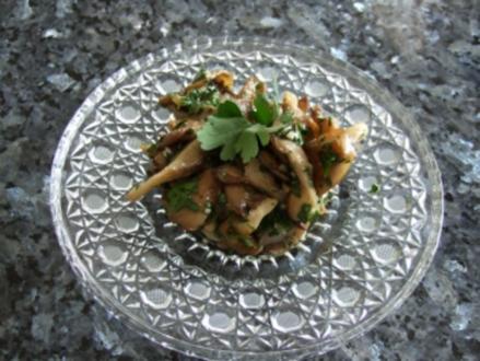 Marinierte Austernpilze - Rezept