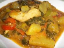 Süßkartoffeln-Curry - Rezept