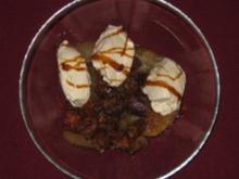 Apfel-Feigen-Dessert mit Mascarpone-Sahnehaube - Rezept