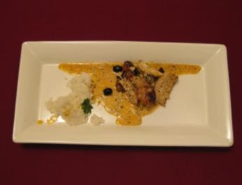 Huhn in mediterraner Thymiansoße - Rezept