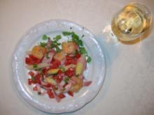 mediterraner Spargelsalat - Rezept