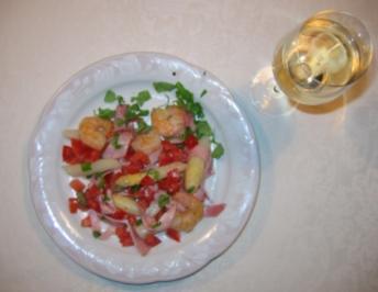 Rezept: mediterraner Spargelsalat