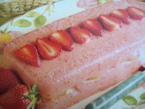 Erdbeer-Orangen-Terrine - Rezept