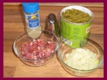 Prinzessbohnen Gemüse - Rezept