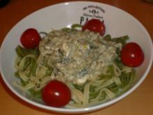 Pasta mit Schafskäse und Spinat - Rezept - Bild Nr. 3