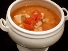 Chupe de Pollo Con Chipotle - Rezept
