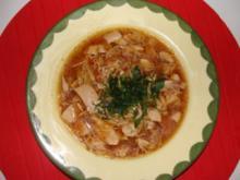Suppe : -Asia- Hühnersuppe-süßsauer- - Rezept